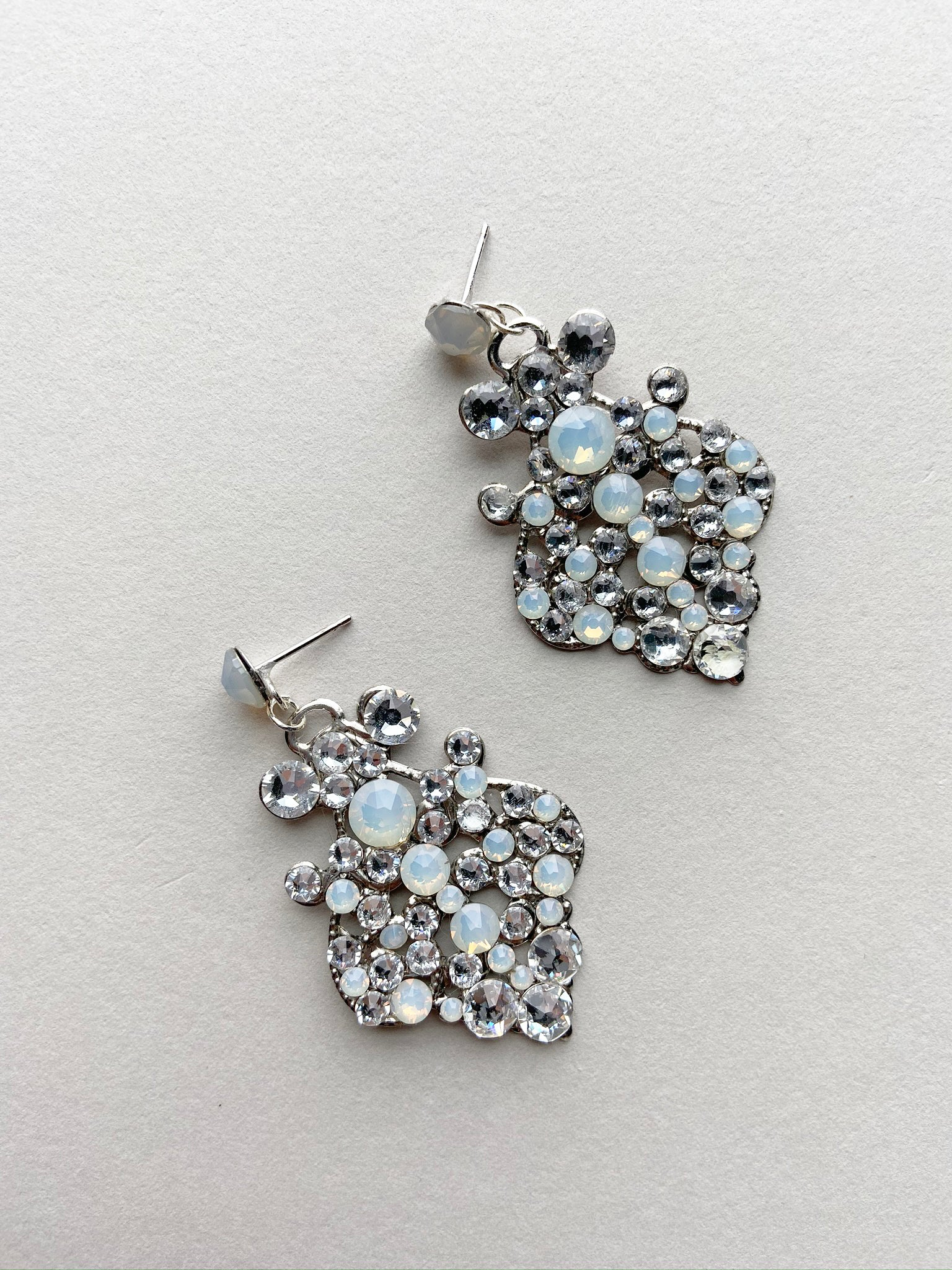 Rent Bridal Jewelry - Kubo Earrings - Happily Ever Borrowed