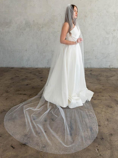 Rent a Wedding Veil-Luella Veil-Happily Ever Borrowed