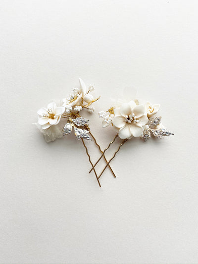 Rent Wedding Headpiece-Lauren Hairpins-Happily Ever Borrowed