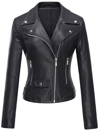 Wife leather jacket - rental wedding jacket - Happily Ever Borrowed