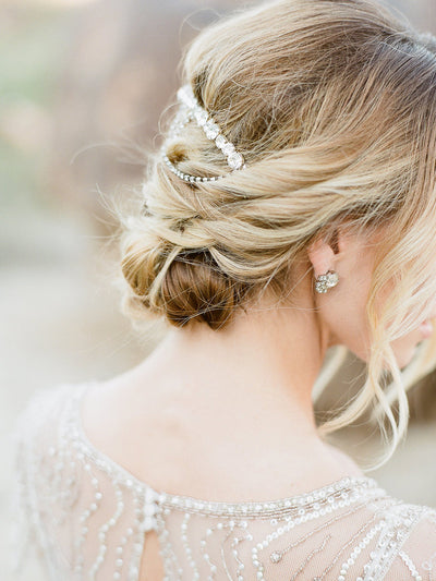 Rent Wedding Headpiece-Aya Headband-Happily Ever Borrowed