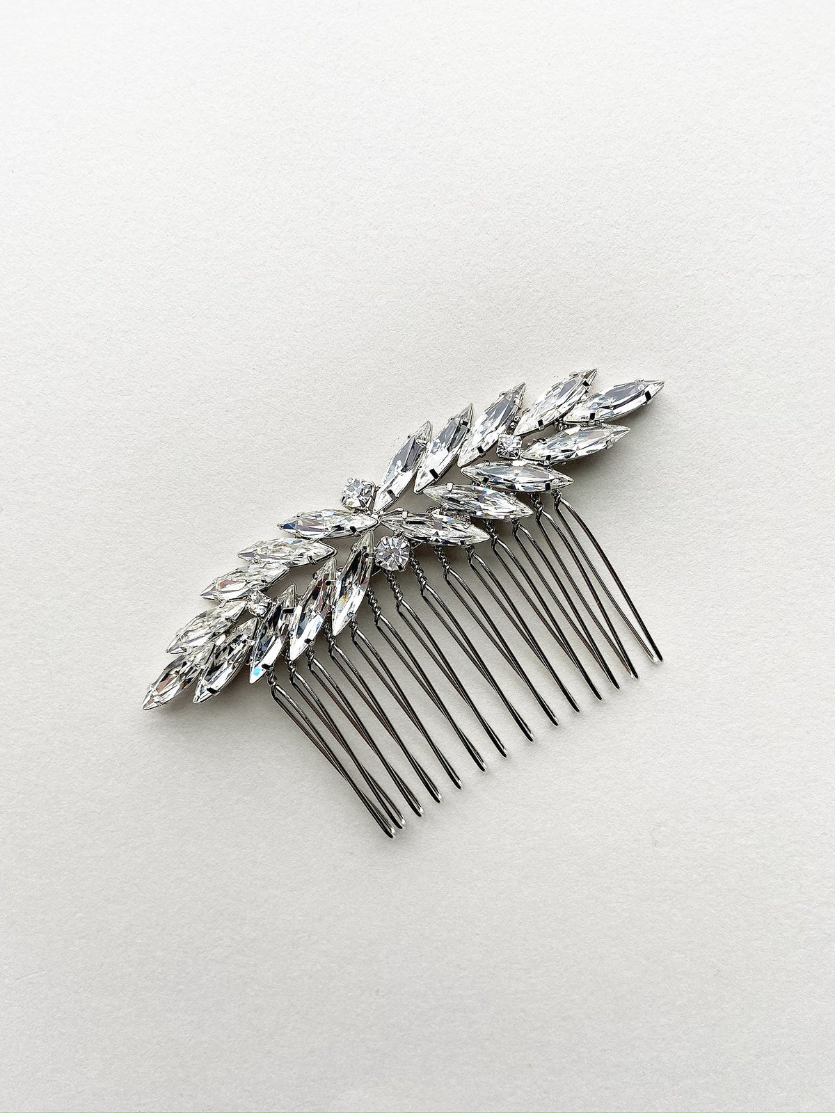 Rent Bridal Hair Accessories - Navette Hair Comb - Happily Ever Borrowed
