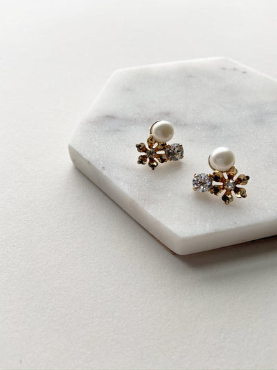 Rent Wedding Jewelry - Posy Earrings - Happily Ever Borrowed