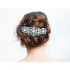 Ruby Headpiece-Hairpins & Combs-Justine M. Couture-Silver-4 Day Rental-Happily Ever Borrowed