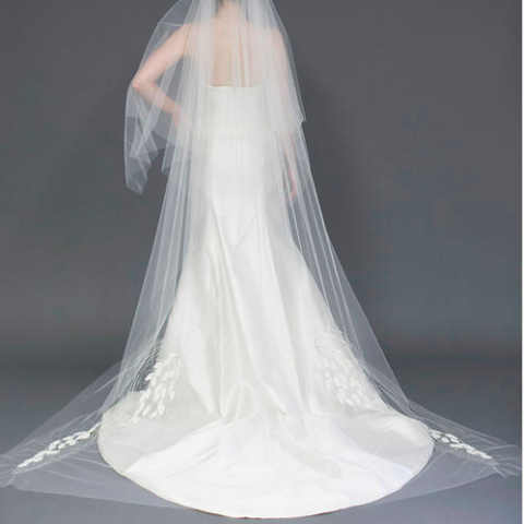Chelsea Veil-Veils-Jaclyn Jordan-Ivory-4 Day Rental-Happily Ever Borrowed