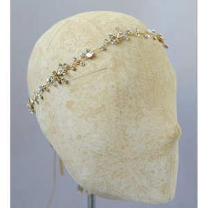 Simple Crystal Hair Vine-headbands-Twigs & Honey-Happily Ever Borrowed