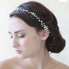 Simple Crystal Hair Vine headbands Twigs & Honey  - Happily Ever Borrowed