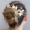 Cherry Blossom Hair pin and Comb set-Hairpins & Combs-Twigs & Honey-Blush-4 Day Rental-Happily Ever Borrowed