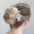 Rent Wedding Headpiece-Sugary Sweet Floral Headpiece-Happily Ever Borrowed