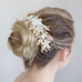 Sugary Sweet Floral Headpiece-Hairpins & Combs-Twigs & Honey-Happily Ever Borrowed