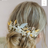 Sugary Sweet Floral Headpiece-Hairpins & Combs-Twigs & Honey-Gold-4 Day Rental-Happily Ever Borrowed