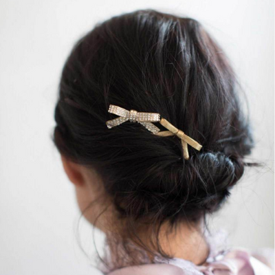 Dainty Bow Hairpin Set