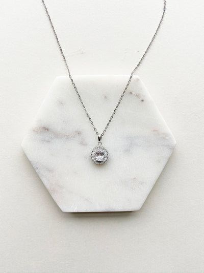 Rent Bridal Jewelry - Sharon Necklace - Happily Ever Borrowed