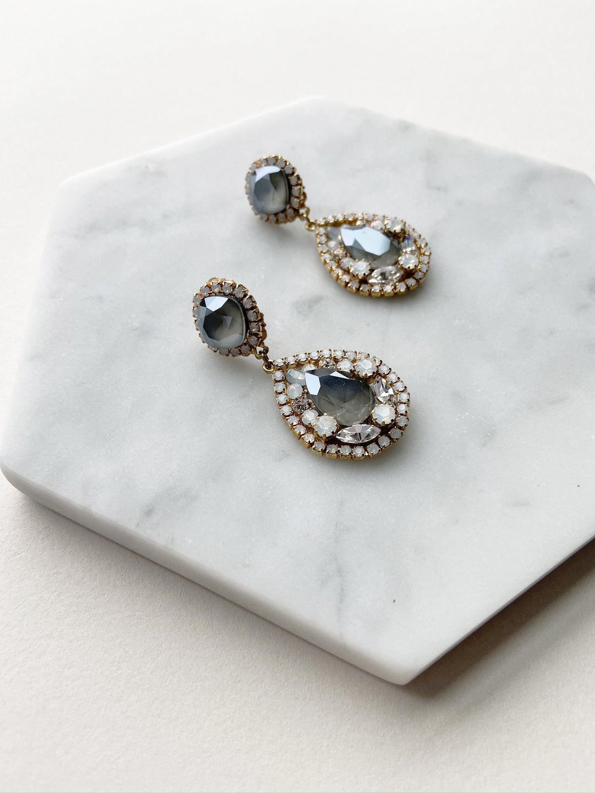 Rent Wedding Jewelry - Something Blue Earrings - Happily Ever Borrowed