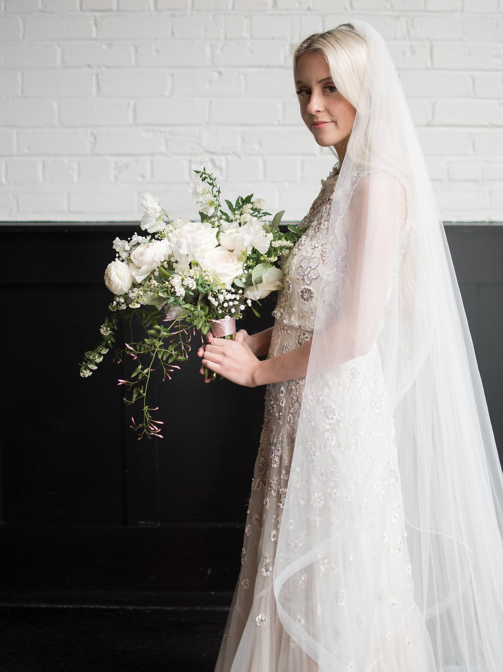 Rent a Wedding Veil-Julianne Veil-Happily Ever Borrowed