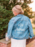 Custom Bridal Denim Jacket-Rent Wedding Jacket-Happily Ever Borrowed