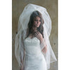 Bubble Veil-veils-The Yellow Peony-Ivory-4 Day Rental-Happily Ever Borrowed