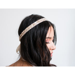 Vincenza Fabric Headband-headbands-Justine M. Couture-Happily Ever Borrowed