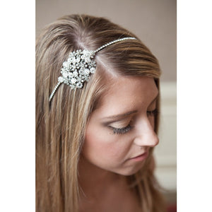 Terri Headband-headbands-Avant Bride-Happily Ever Borrowed