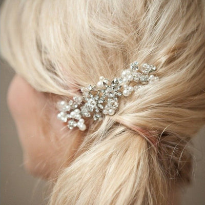 Rent Wedding Headpiece-Mary Kate Comb-Happily Ever Borrowed
