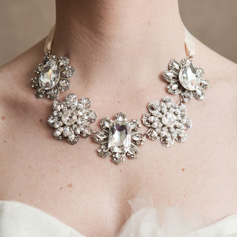 Carrie B Necklace-Necklaces-enchanted atelier-Ivory-4 Day Rental-Happily Ever Borrowed