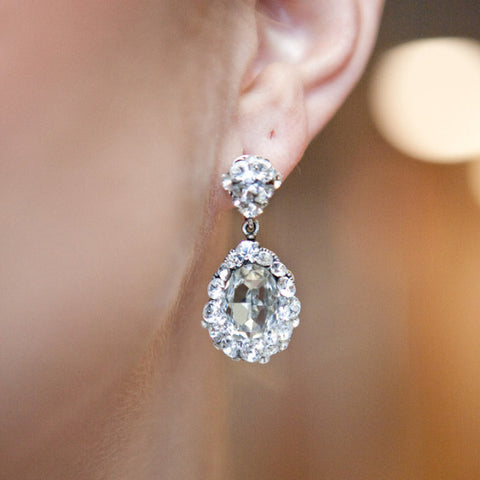 Diana Earrings earrings Justine M. Couture  - Happily Ever Borrowed