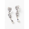 Whitney Earrings-earrings-Justine M. Couture-Silver-4 Day Rental-Happily Ever Borrowed