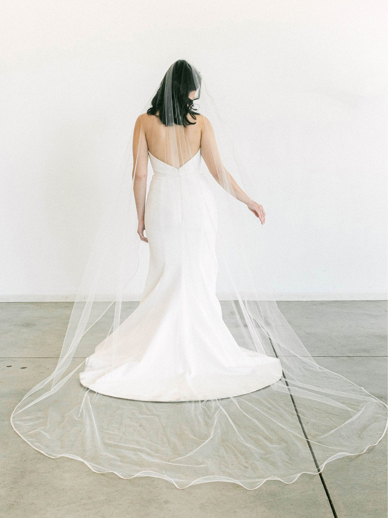 Rent a Wedding Veil-Anastasia Veil-Happily Ever Borrowed