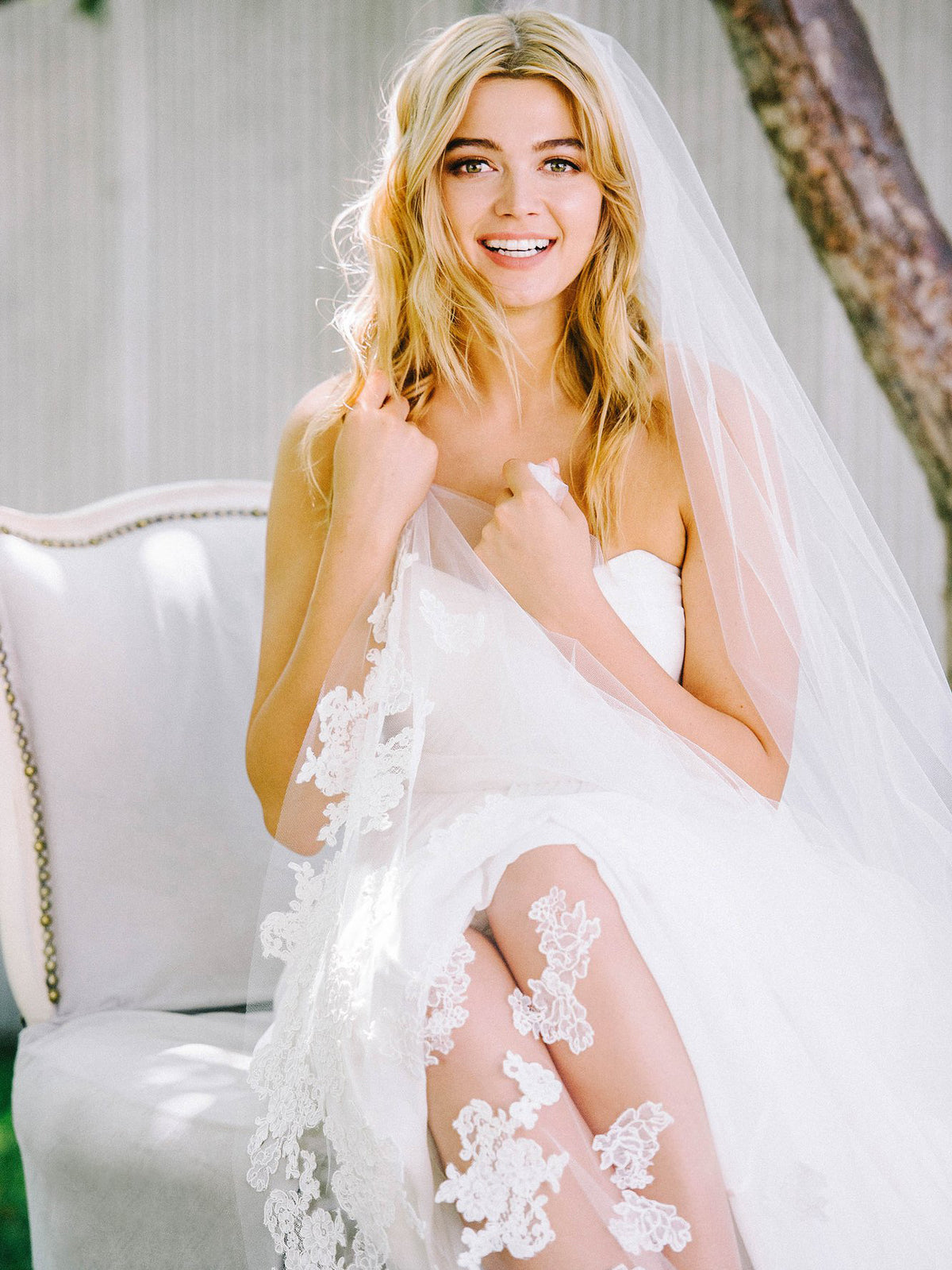 Rent a Wedding Veil-Annie Veil-Happily Ever Borrowed