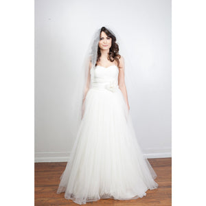 "Bella 53"" Trimmed-Veils-Justine M. Couture-Happily Ever Borrowed"