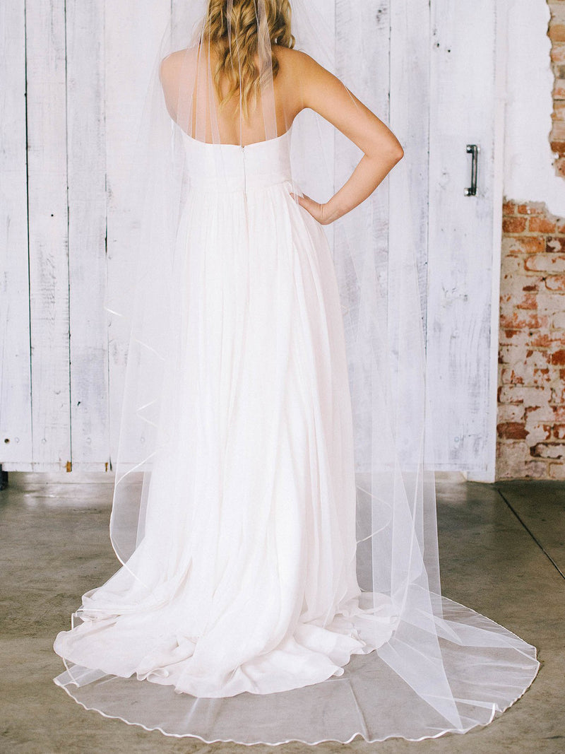 Rent a Wedding Veil-Chloe Veil-Happily Ever Borrowed