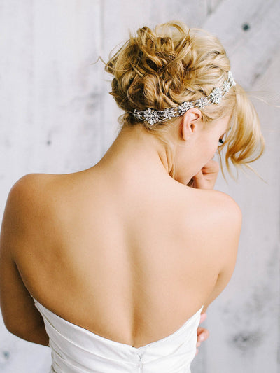 Rent Wedding Headpiece-Chris Halo-Happily Ever Borrowed