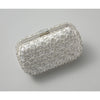 Crystalline Clutch-Clutches-Elizabeth Bower-Ivory-4 Days-Happily Ever Borrowed