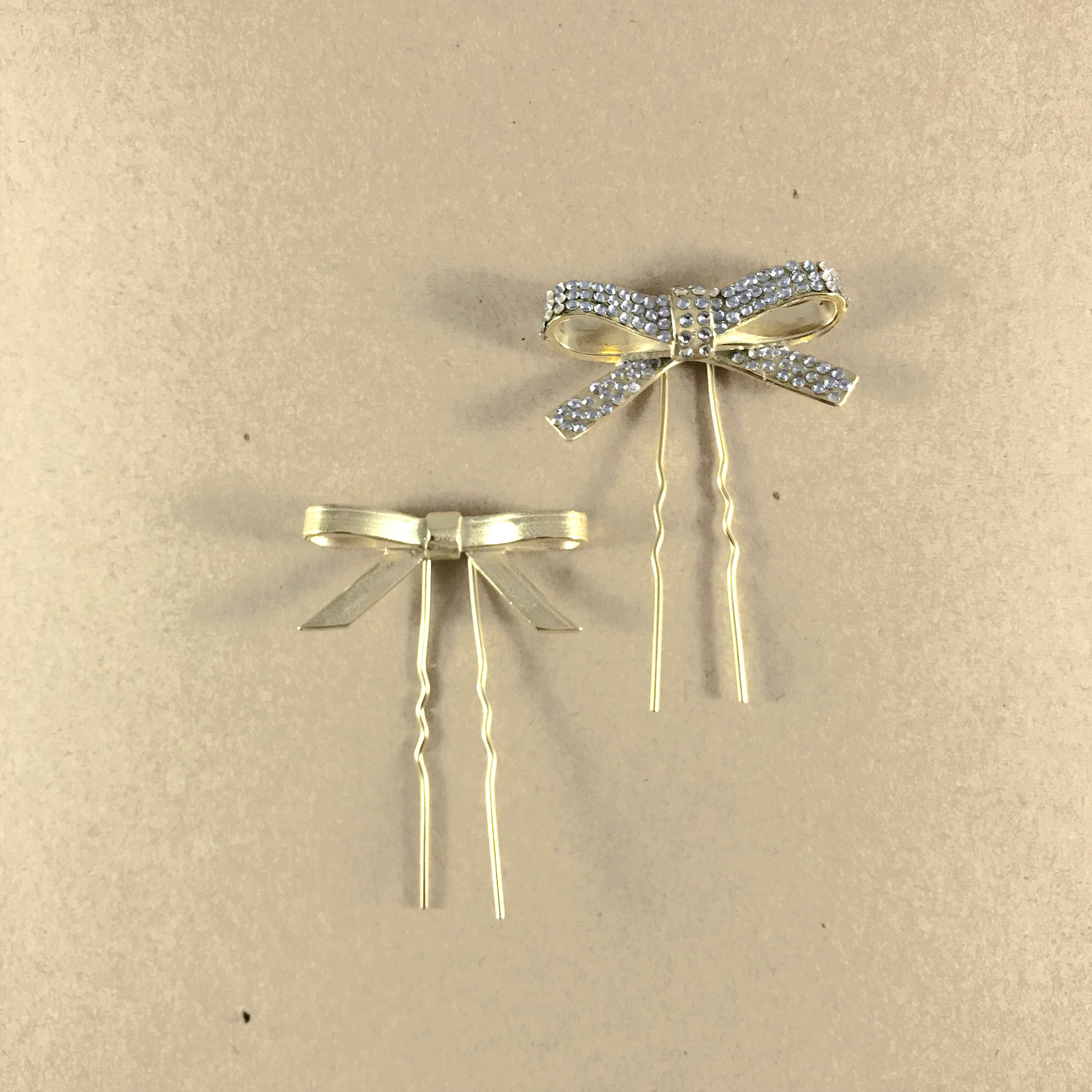 Dainty Bow Hairpin Set - SALE