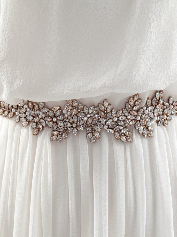 Rent Wedding Dress Sash-Eden Sash-Happily Ever Borrowed