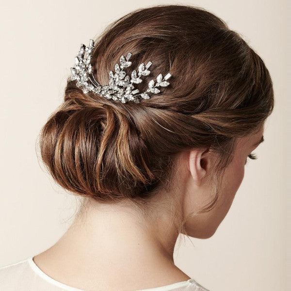 Rent Wedding Headpiece-Ceremony Double Comb-Happily Ever Borrowed