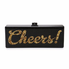 Flavia Cheers! Clutch-Clutches-Edie Parker-Black-4 Day-Happily Ever Borrowed