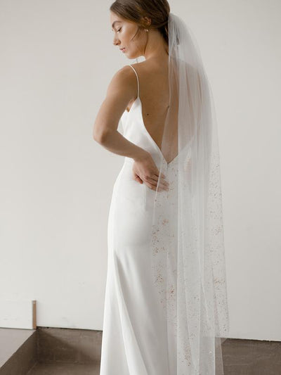 Rent a Wedding Veil-Imogene Veil-Happily Ever Borrowed