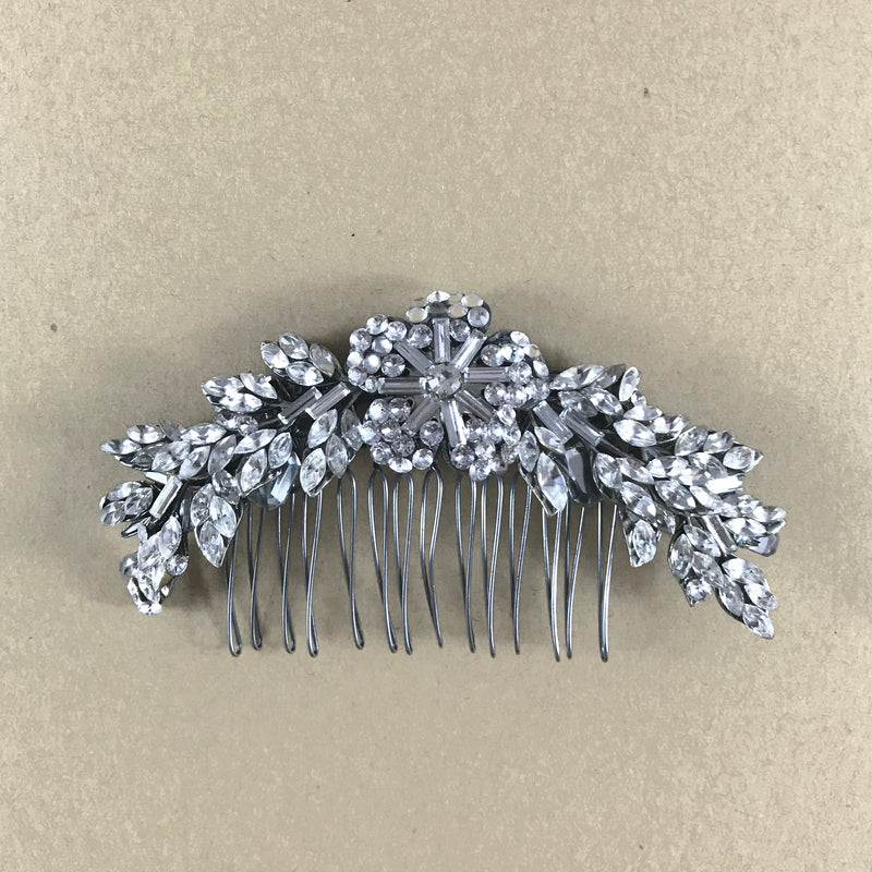 Rent Wedding Headpiece-Grace Comb-Happily Ever Borrowed