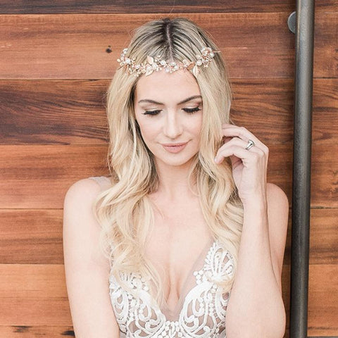 Olivia Hair Vine-Hairpins & Combs-Haute Bride-Happily Ever Borrowed