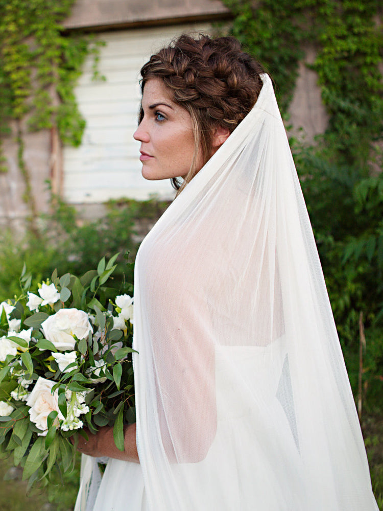 Rent a Wedding Veil-Pippa Veil-Happily Ever Borrowed