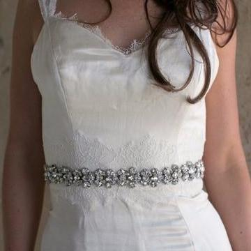 Rent Wedding Dress Sash-Selma Sash-Happily Ever Borrowed