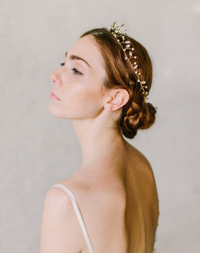 Rent Wedding Headpiece-Emilia Headband-Happily Ever Borrowed