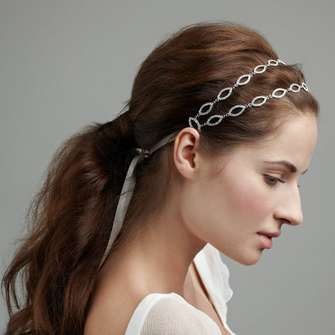 Marquis Double Band-headbands-Elizabeth Bower-Ivory-4 Day Rental-Happily Ever Borrowed