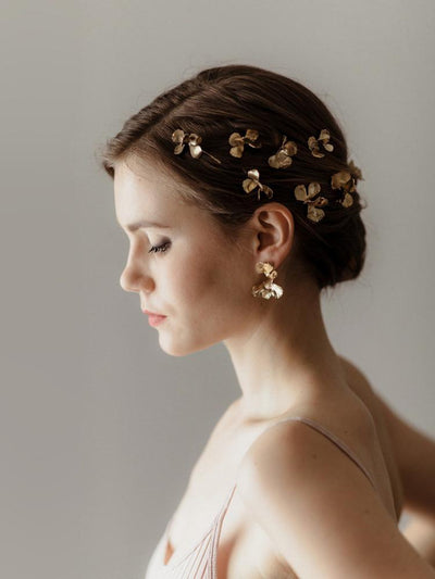 Rent Bridal Hairpins - Moss Hairpins - Happily Ever Borrowed
