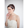 Lace Band Crystal Hairpiece-headbands-Elizabeth Bower-Ivory-4 Day Rental-Happily Ever Borrowed
