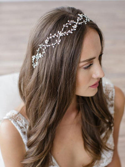 Rent Wedding Headpiece-Octavia Halo-Happily Ever Borrowed