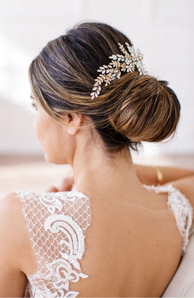 Rent Wedding Headpiece-Serena Comb-Happily Ever Borrowed