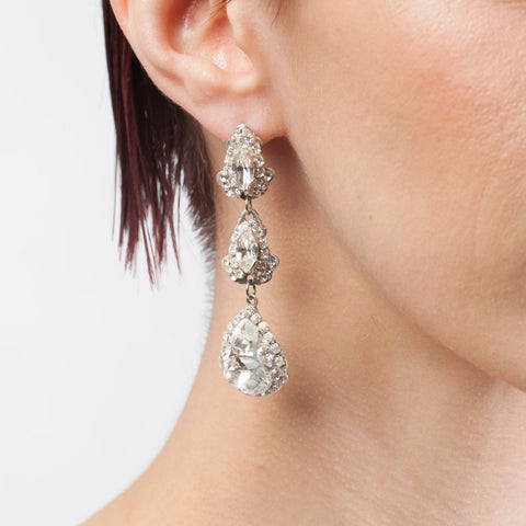 Duchess Earrings-earrings-Justine M. Couture-Happily Ever Borrowed