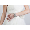 Duchess Cuff Bracelet-bracelets-Justine M. Couture-Silver-4 Day Rental-Happily Ever Borrowed